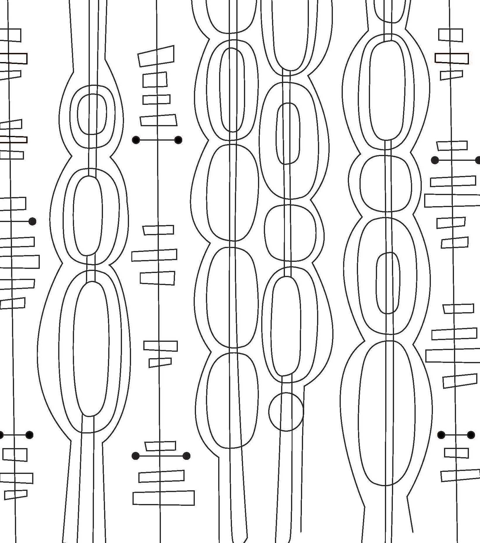 Just Add Color: Mid-Century Modern Patterns: 30 Original
