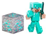 NEW Minecraft Steve Diamond Armor Flexible Feirce & Fight