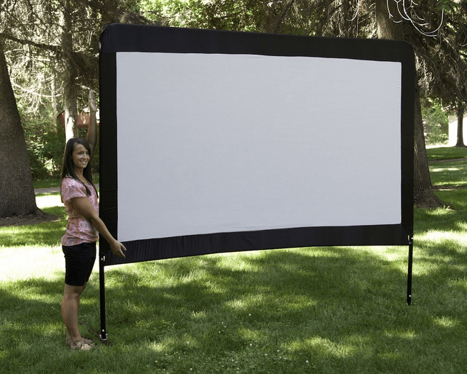Amazoncom Camp Chef 120Inch Portable Outdoor Movie
