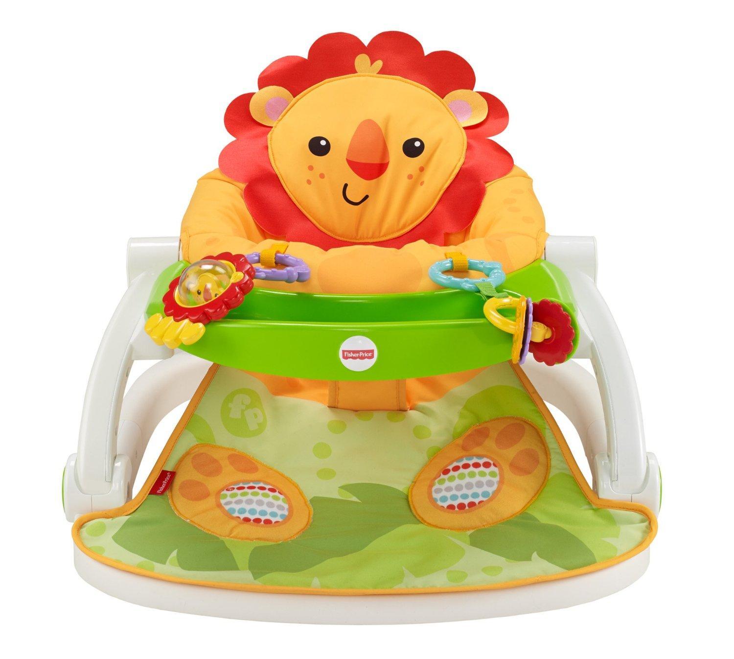 Baby Play Chair Fisher Price Portable Compact Baby Newborn Lion Sit Me Up