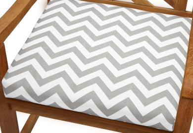 Chevron Outdoor Chair Cushions