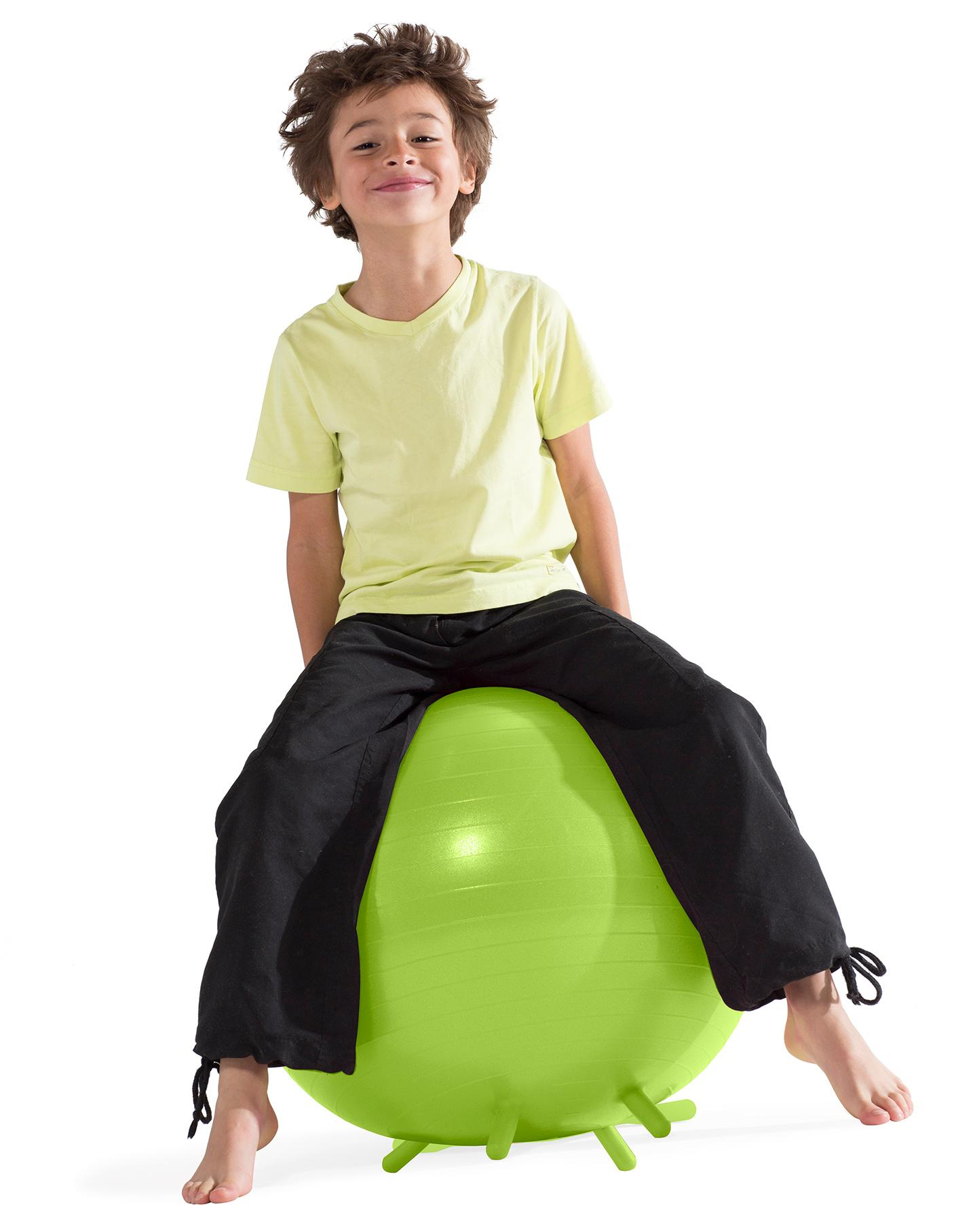 kids balance ball chair office gray amazon gaiam stay n play lime