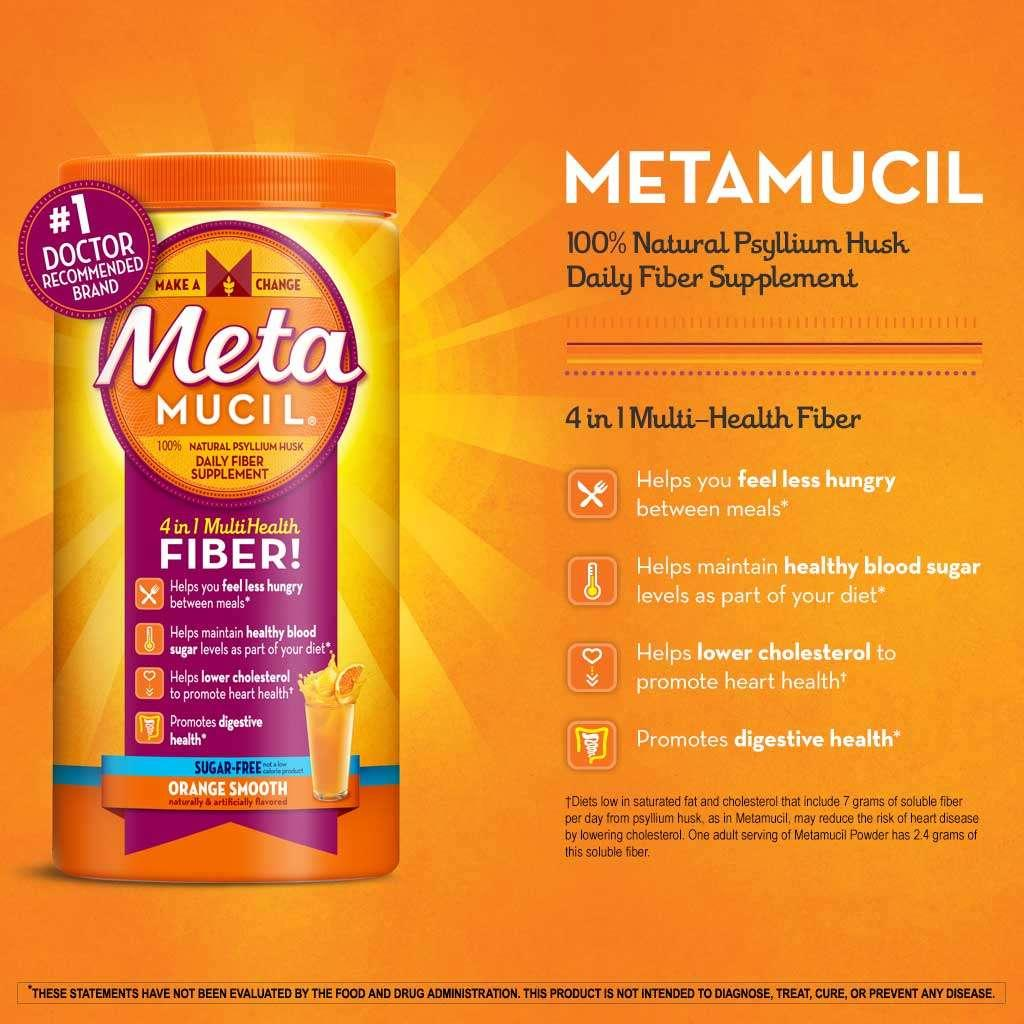Metamucil advantages and also excess weight loss