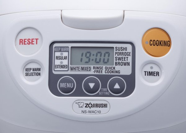 Zojirushi Ns-wac10-wd 5.5-cup Uncooked Micom Rice Cooker And Warmer Kitchen & Dining