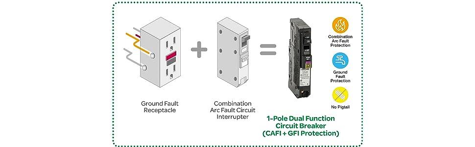 Two Pole Gfci Breaker Wiring Diagram Emprendedorlink