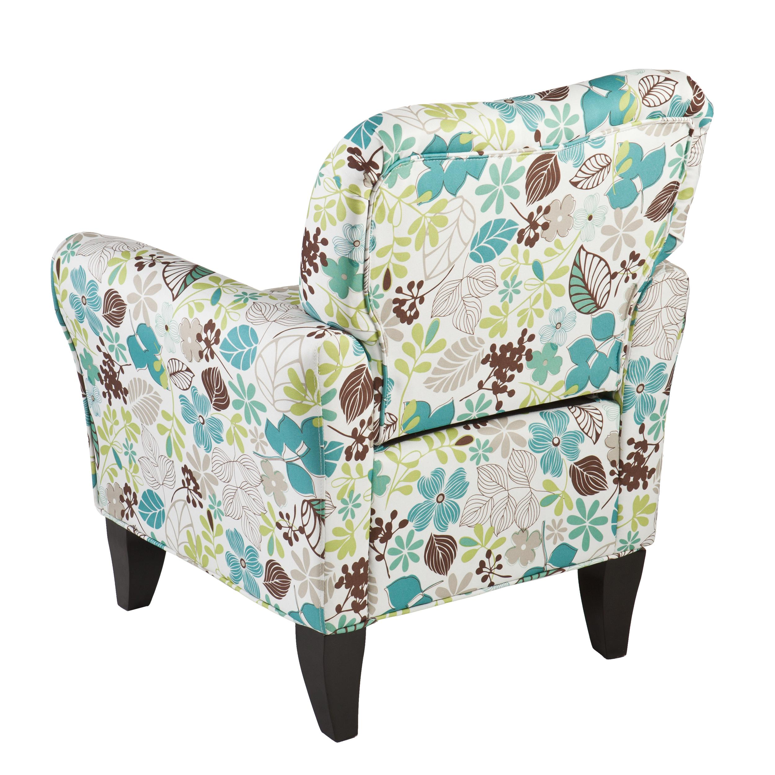 Floral Chairs Amazon Southern Enterprises Dahlia Upholstered