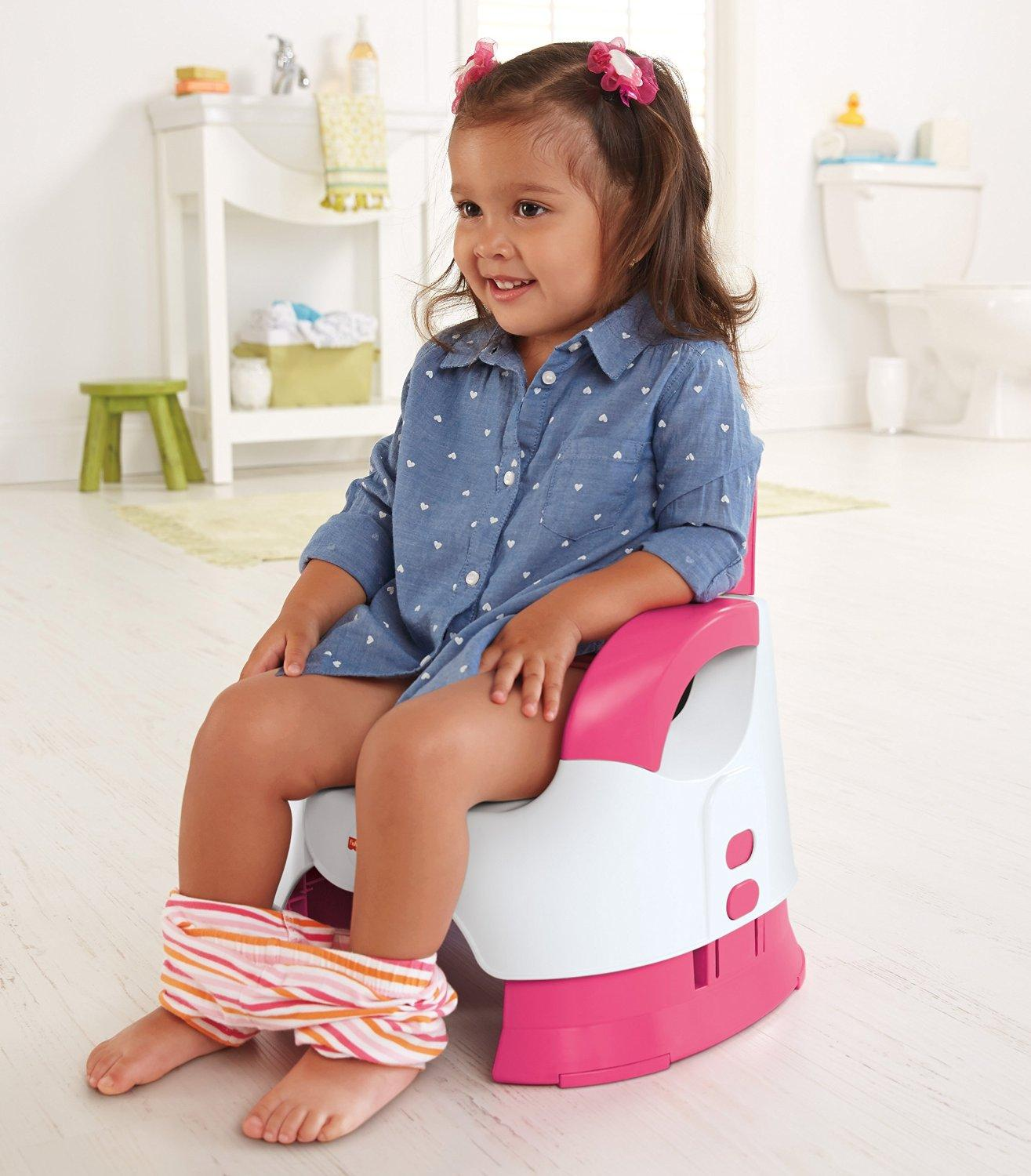 potty chair for girls pool floating chairs amazon fisher price custom comfort training