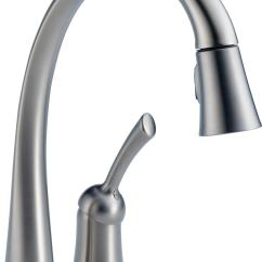 Delta Touchless Kitchen Faucet Second Hand Units 980t Dst Pilar Single Handle Pull Down