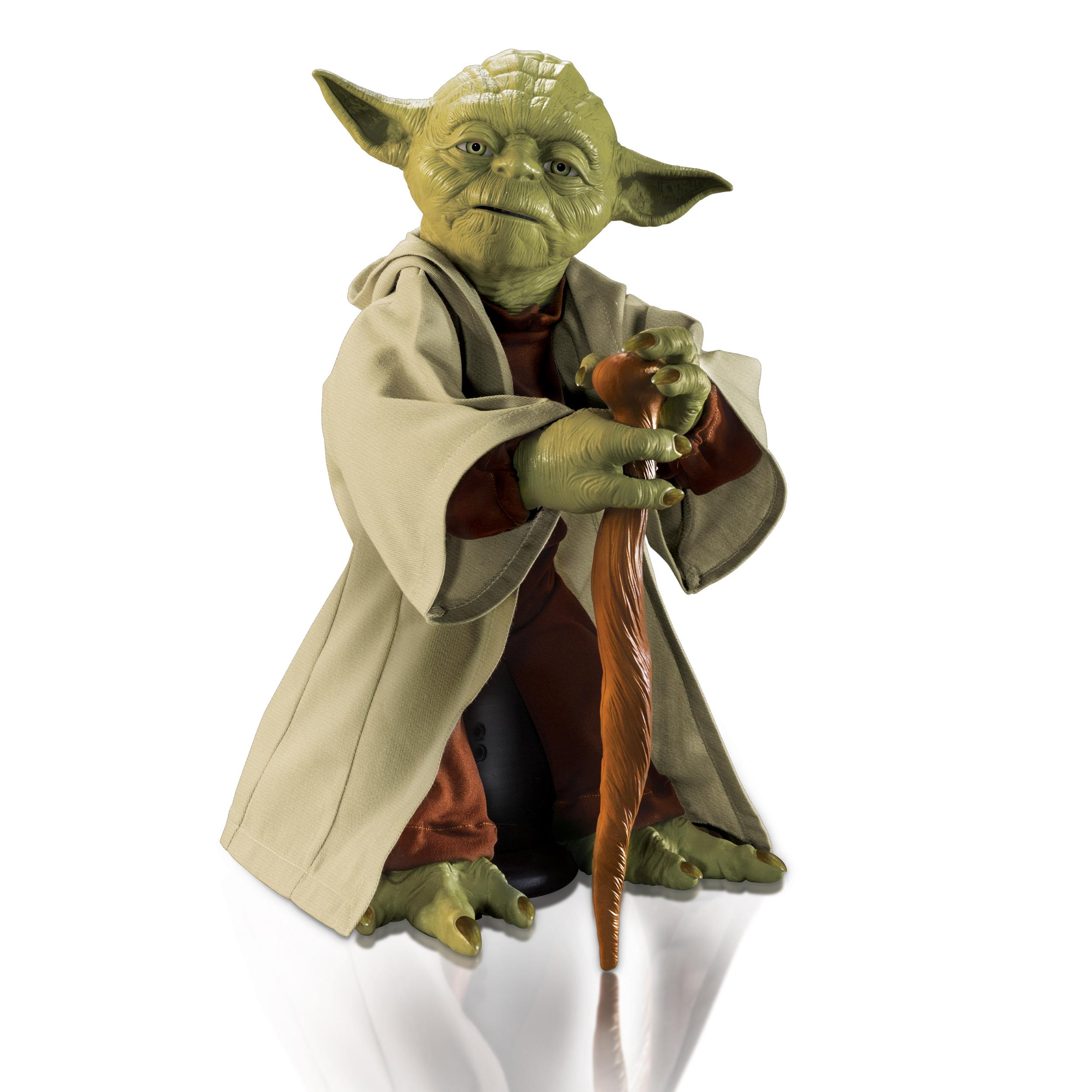 Star Wars Interactive Legendary Jedi Master Yoda New