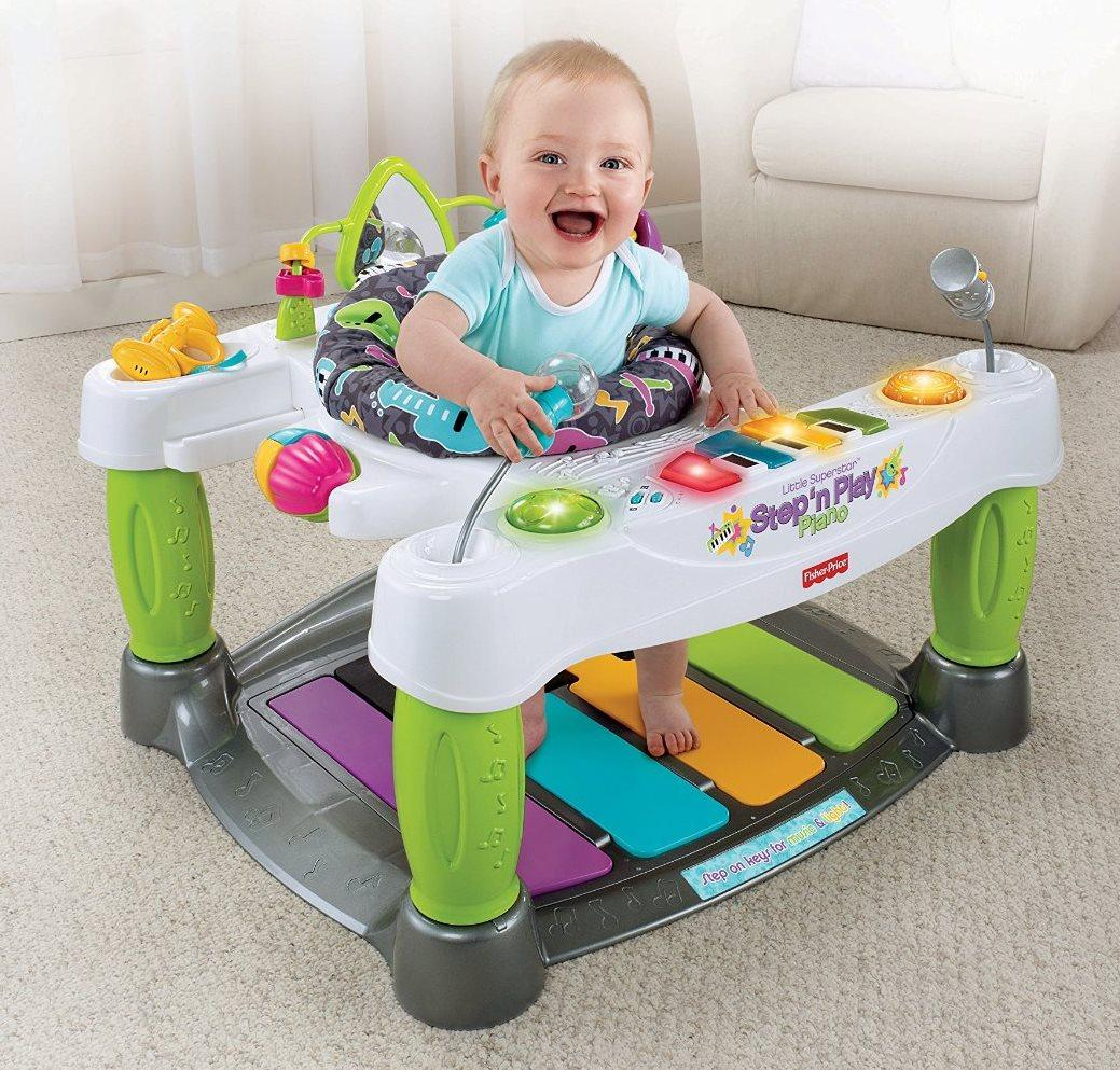 Baby Play Chair Baby Toy Piano Music Play Walker Kids Seat Infant Learn