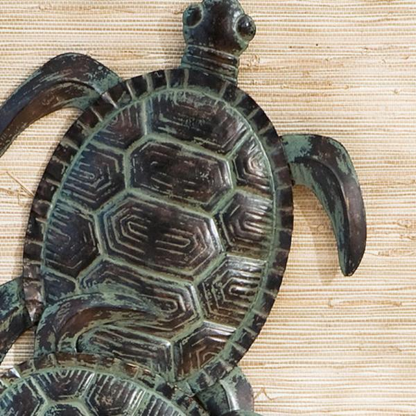 Sei Sea Turtle Wall Art Sculptures