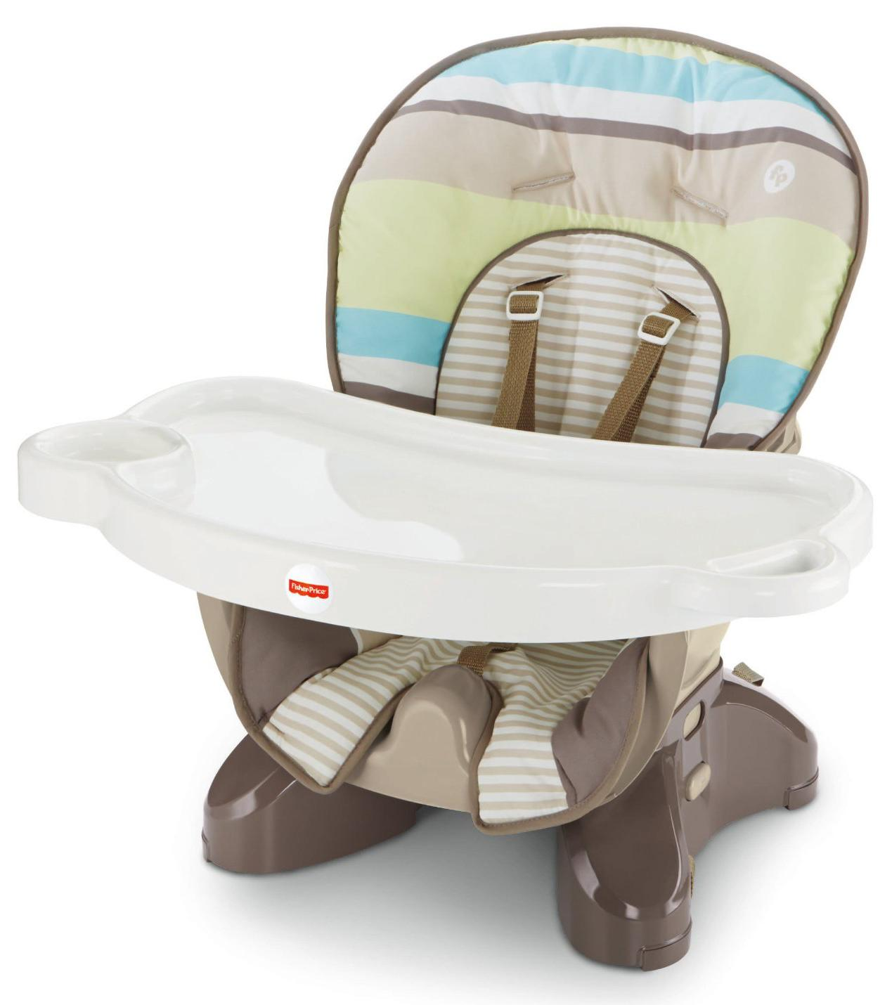 High Chair Fisher Price Amazon Fisher Price Spacesaver High Chair Stripes