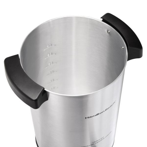 Hamilton Beach 40515 42-cup Coffee Urn Silver Urns