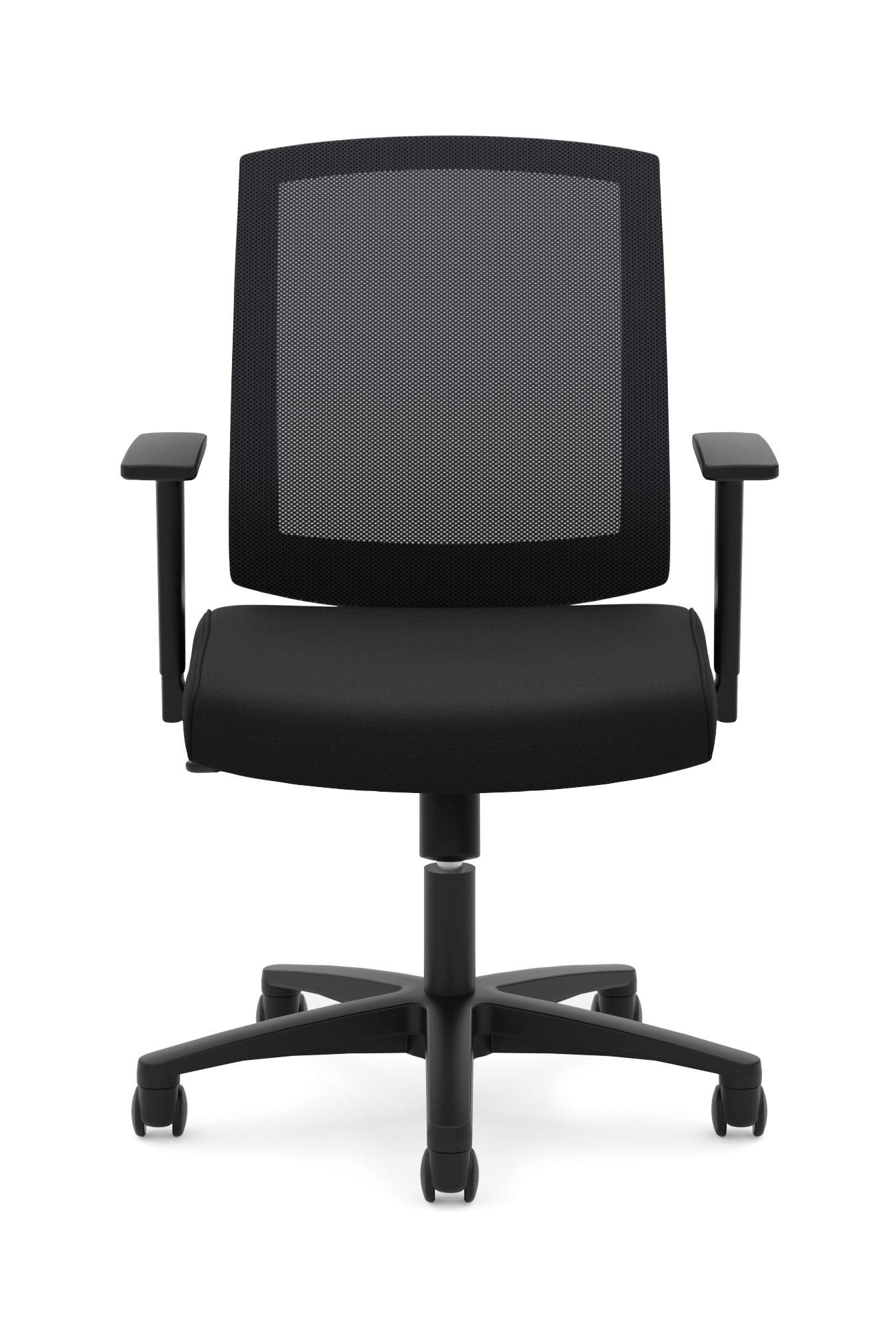 Hon Chairs Amazon Basyx By Hon Hvl511 Mid Back Task Chair Black