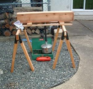Steam Box For Bending Wood