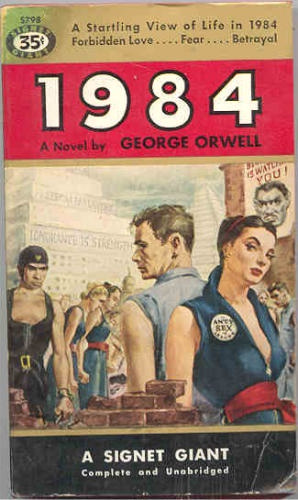 Image result for COVERS OF GEORGE ORWELL'S 1984 IMAGES