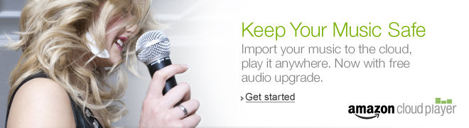 Keep Your Music Safe. Import your music to the cloud, play it anywhere. Now with free audio upgrade.