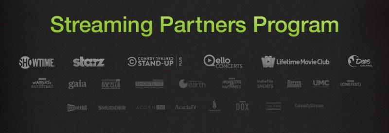 Amazon Video's Streaming Partners Program