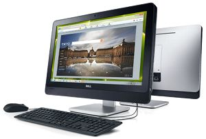 Dell Inspiron One 23 All-in-One (AIO) Desktop: Plan a dream vacation the fun way.