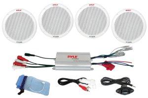 Amazon: Pyle PLMRKT4A 4Channel Waterproof MP3iPod