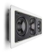 Amazon.com: Pioneer S-IW551L CST Series In-Wall Center ...