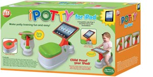 CTA Digital 2in1 iPotty with Activity Seat for iPad