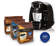 Maxwell House café collection morning blend coffee for Tassimo coffeemaker
