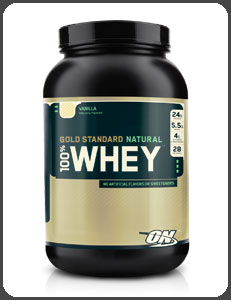 Optimum Nutrition GOLD STANDARD NATURAL 100% WHEY, Natural Vanilla