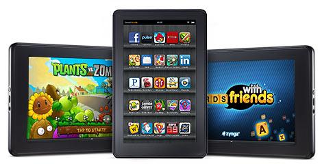Amazon Kindle Fire планшет с горячим ценником