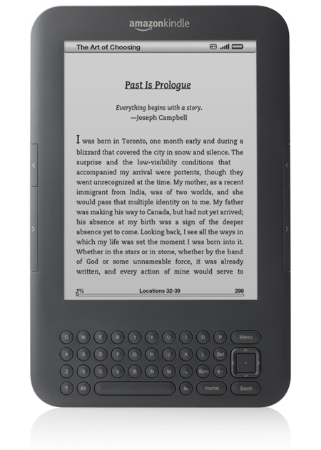 Nowy kindle Amazona