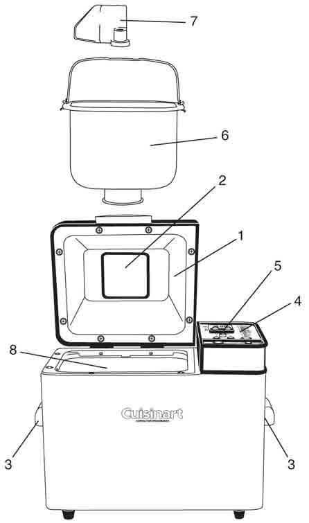 Amazon.com: Cuisinart CBK-200 2-Pound Convection Automatic