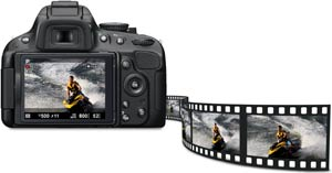 Effortless moviemaking on the D5100