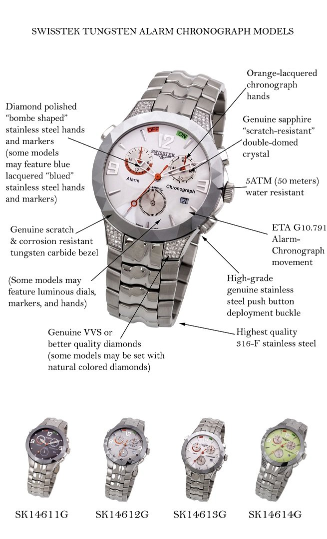 Amazon.com: Swisstek SK14611G Limited Edition Diamond