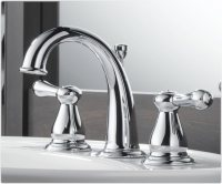 Delta 3575LF Leland Two Handle Widespread Lavatory Faucet ...