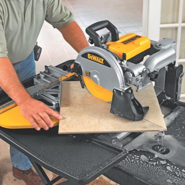 Dewalt D24000 1.5-horsepower 10- Wet Tile - Power