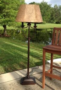 Kenroy Home Belmont Outdoor Floor Lamp - Modern Floor Lamp ...