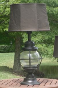 Amazon.com: Kenroy Home Hatteras Outdoor Table Lamp: Home ...