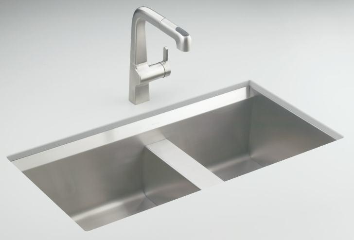 Kohler 3672 Degree Offset Double Basin Kitchen Sink