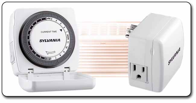 Sylvania SA110 Heavy-Duty Appliance Timer