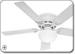 Hunter 20810 Low Profile lll Plus Ceiling Fan