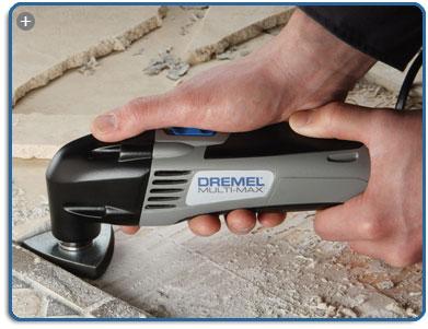Dremel 6300-01 120-Volt Multi-Max Oscillating Kit   Power