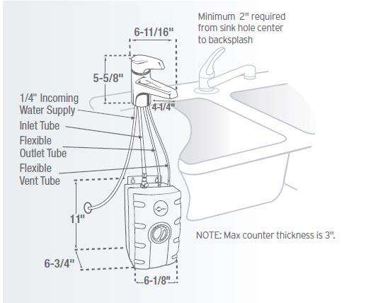 InSinkErator H990C-SS Invite Instant Hot Water Dispenser
