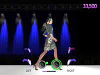 Controlling a model using the Wii Remote and Nunchuk in Project Runway the Video Game