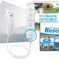 Wii with wii sports resort wii sports and wii remote plus white