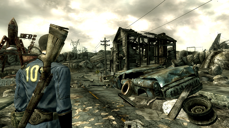 Copy of Fallout 3 Included with Fallout 4 will be Backwards