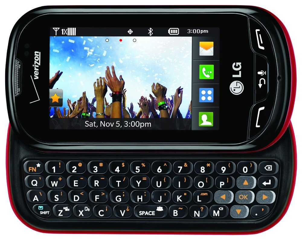 Phones Verizon Touch Screen Slider Prepaid