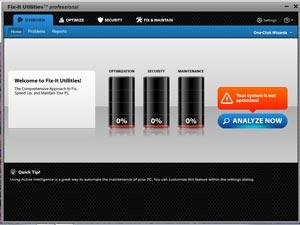 Avanquest Fix-It Utilities 12 - PC Analyser Technology
