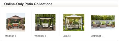 Online Only Patio Collections