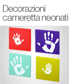 Decorazioni cameretta neonati