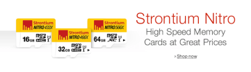 Memory Cards by Strontium